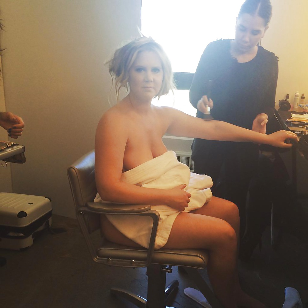Amy schumer naked fake