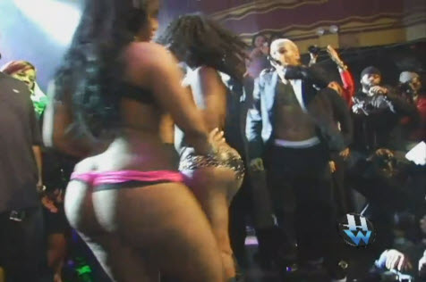 Big black booty party