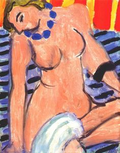 Henri matisse naked girl with towel