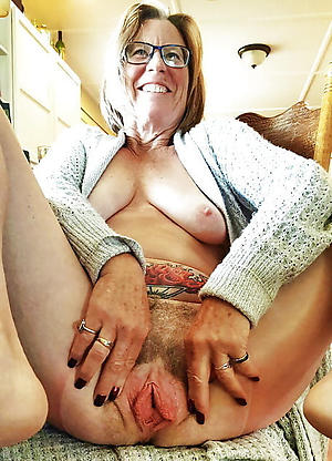 Mature blonde with glasses porn