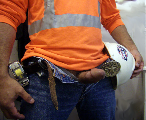 Construction worker cock