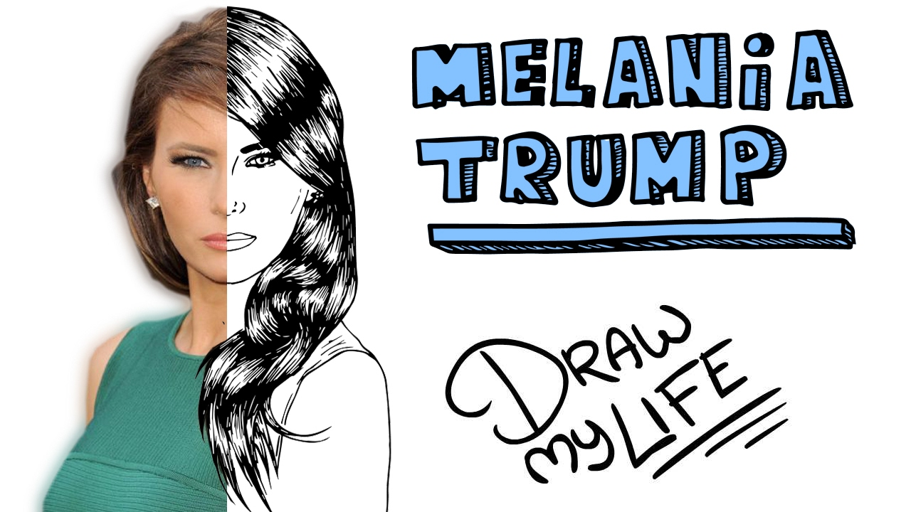 Donald trump draw my life the musical