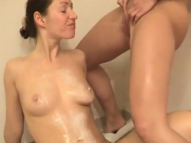 Naked girls peeing on each other