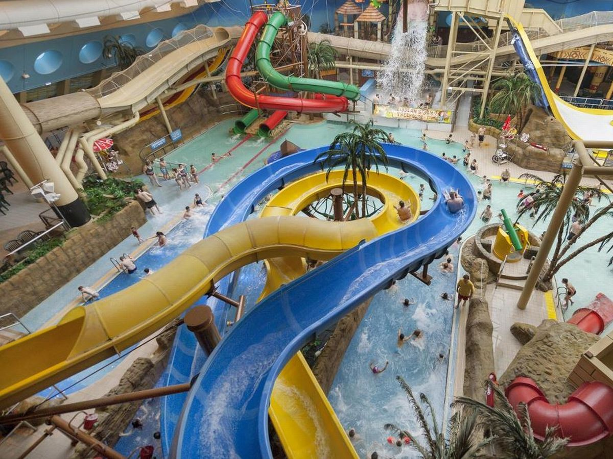 Water park naked video